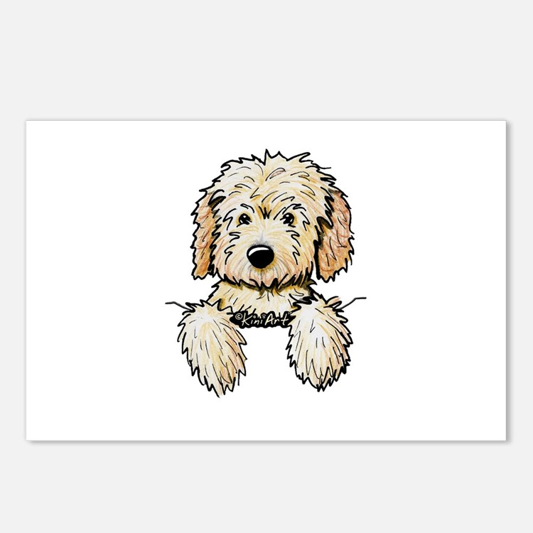 Pocket Doodle Pup Postcards (Package of 8)