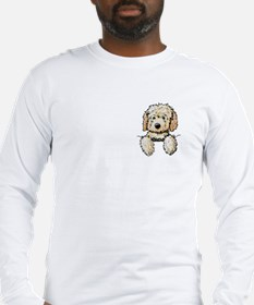 Pocket Doodle Pup Long Sleeve T-Shirt