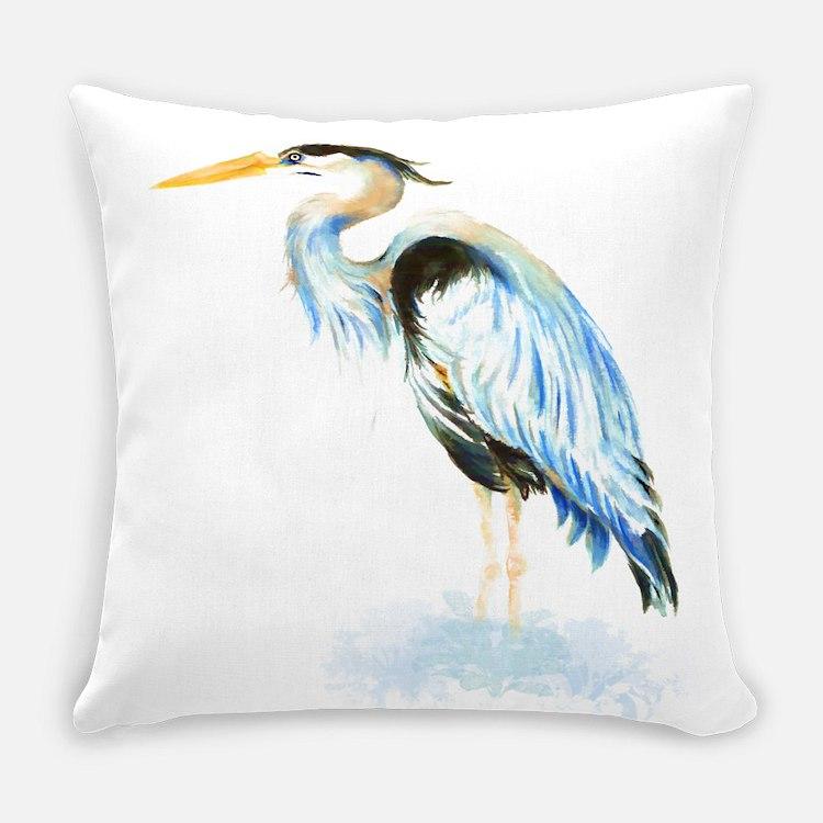 Blue Heron Throw Pillows : Great Blue Heron Pillows, Great Blue Heron Throw Pillows & Decorative Couch Pillows