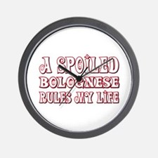 Spoiled Bolognese Wall Clock