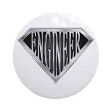 SuperEngineer(metal) Ornament (Round)