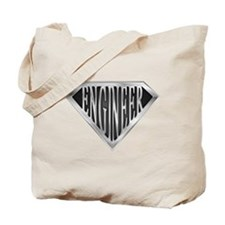 SuperEngineer(metal) Tote Bag