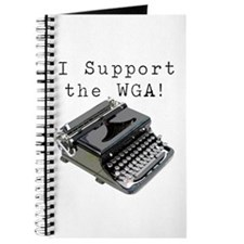 I support the WGA! Journal