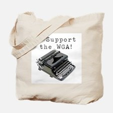 I support the WGA! Tote Bag