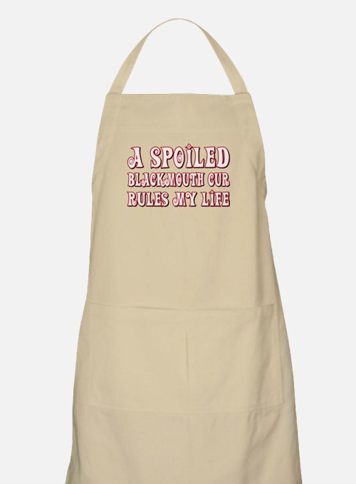 Spoiled Blackmouth Cur BBQ Apron