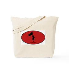 Color Guard (euro-red) Tote Bag