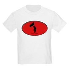 Color Guard (euro-red) T-Shirt