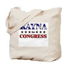 RAYNA for congress Tote Bag