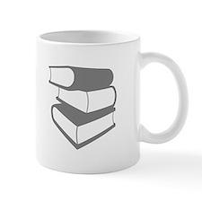 Stack Of Gray Books Mug