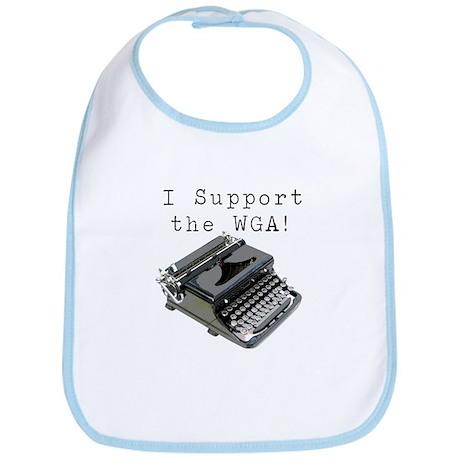 I support the WGA! Bib