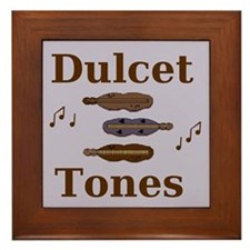 """""""Dulcet Tones"""" dulcimer Framed Tile"""