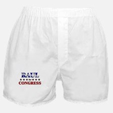 RAUL for congress Boxer Shorts