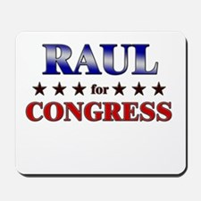 RAUL for congress Mousepad