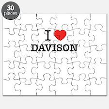 I Love DAVISON Puzzle