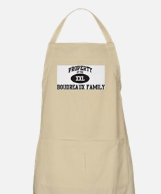 Property of Boudreaux Family BBQ Apron