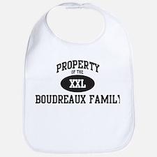 Property of Boudreaux Family Bib