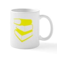 Stack Of Yellow Books Mug