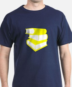 Stack Of Yellow Books T-Shirt
