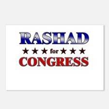 RASHAD for congress Postcards (Package of 8)