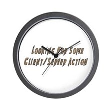 Client/Server Action Wall Clock