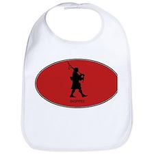 Bagpipes (euro-red) Bib