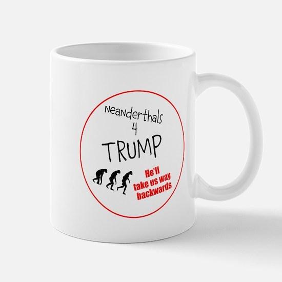 Neanderthals 4 Trump Mugs
