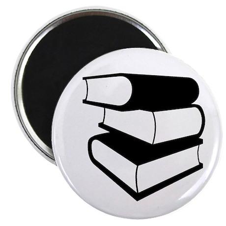 Stack Of Black Books Magnet