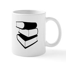 Stack Of Black Books Mug