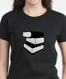 Stack Of Black Books Tee