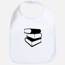Stack Of Black Books Bib