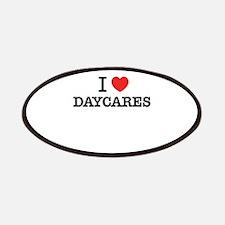 I Love DAYCARES Patch