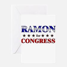 RAMON for congress Greeting Card