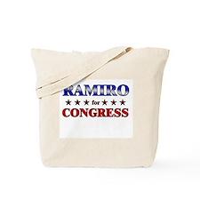 RAMIRO for congress Tote Bag