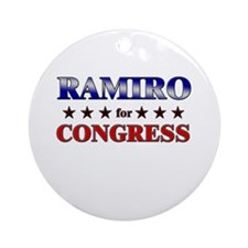 RAMIRO for congress Ornament (Round)