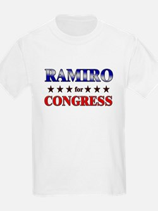RAMIRO for congress T-Shirt
