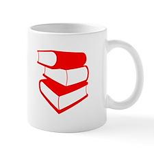 Stack Of Red Books Mug