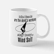 Stay Busy Wind Sail Mug
