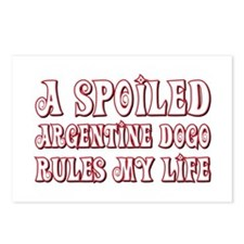 Spoiled Dogo Postcards (Package of 8)