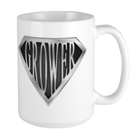 SuperGrower(metal) Large Mug