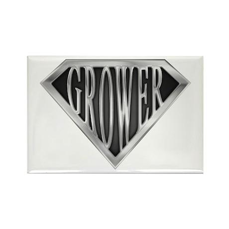 SuperGrower(metal) Rectangle Magnet
