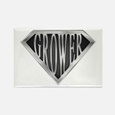 SuperGrower(metal) Rectangle Magnet