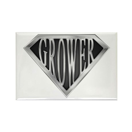 SuperGrower(metal) Rectangle Magnet (100 pack)