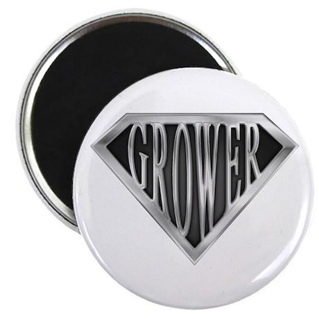 "SuperGrower(metal) 2.25"" Magnet (100 pack)"