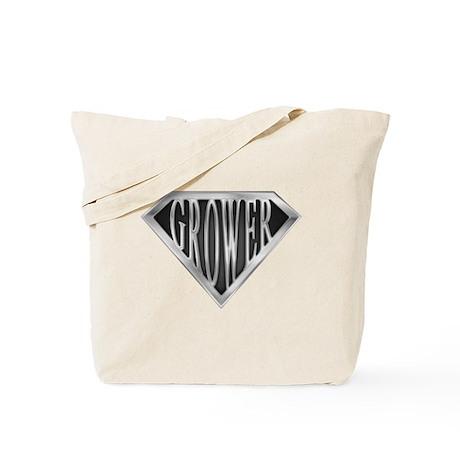 SuperGrower(metal) Tote Bag