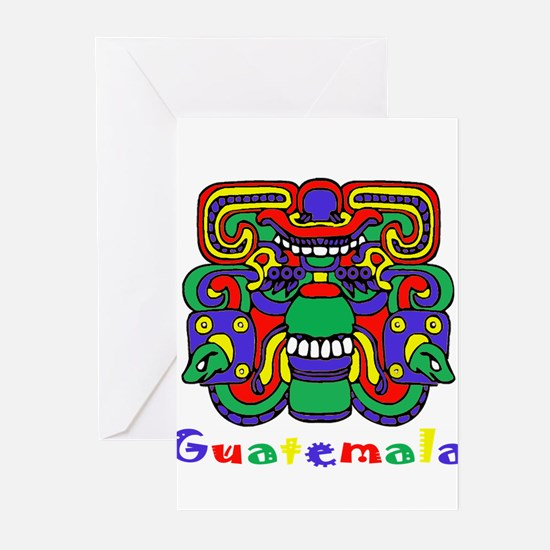 Mayan Guatemala Greeting Cards