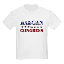 RAEGAN for congress T-Shirt