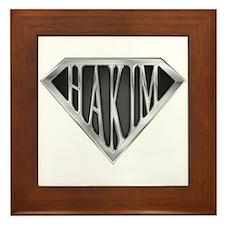 SuperHakim(metal) Framed Tile