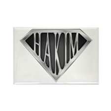SuperHakim(metal) Rectangle Magnet