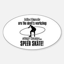 Stay Busy Sped Skate Decal
