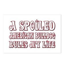 Spoiled Bulldog Postcards (Package of 8)